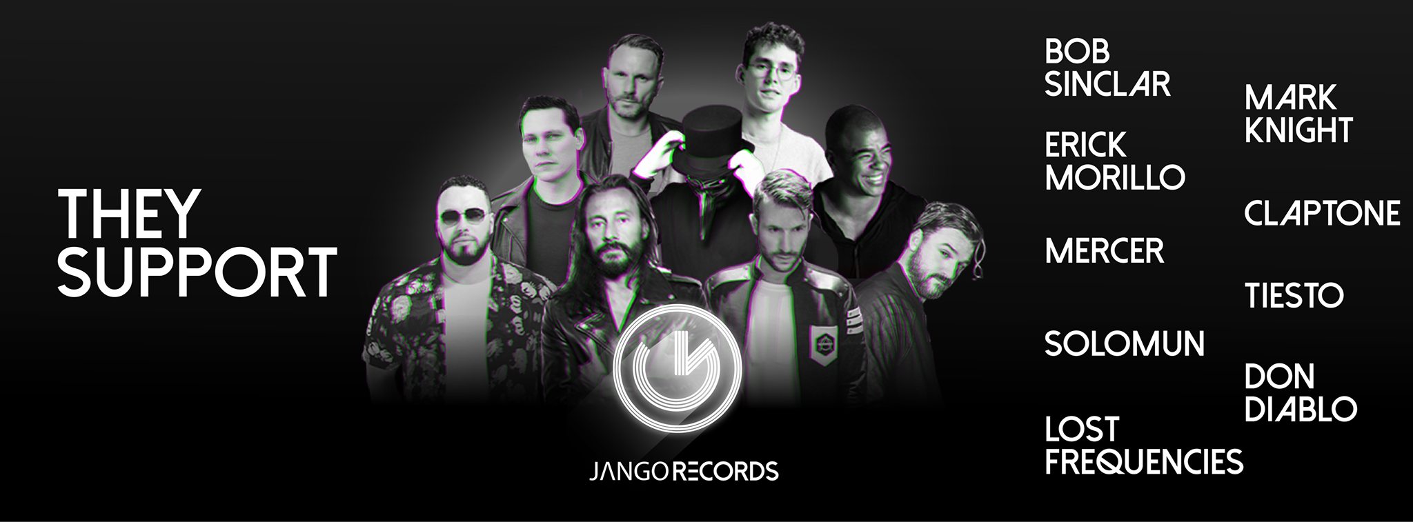 Bob Sinclar, Mark Knight, Erick Morillo, Claptone, Mercer, Tiesto, Solomun, Don Diablo, Lost Frequencies...