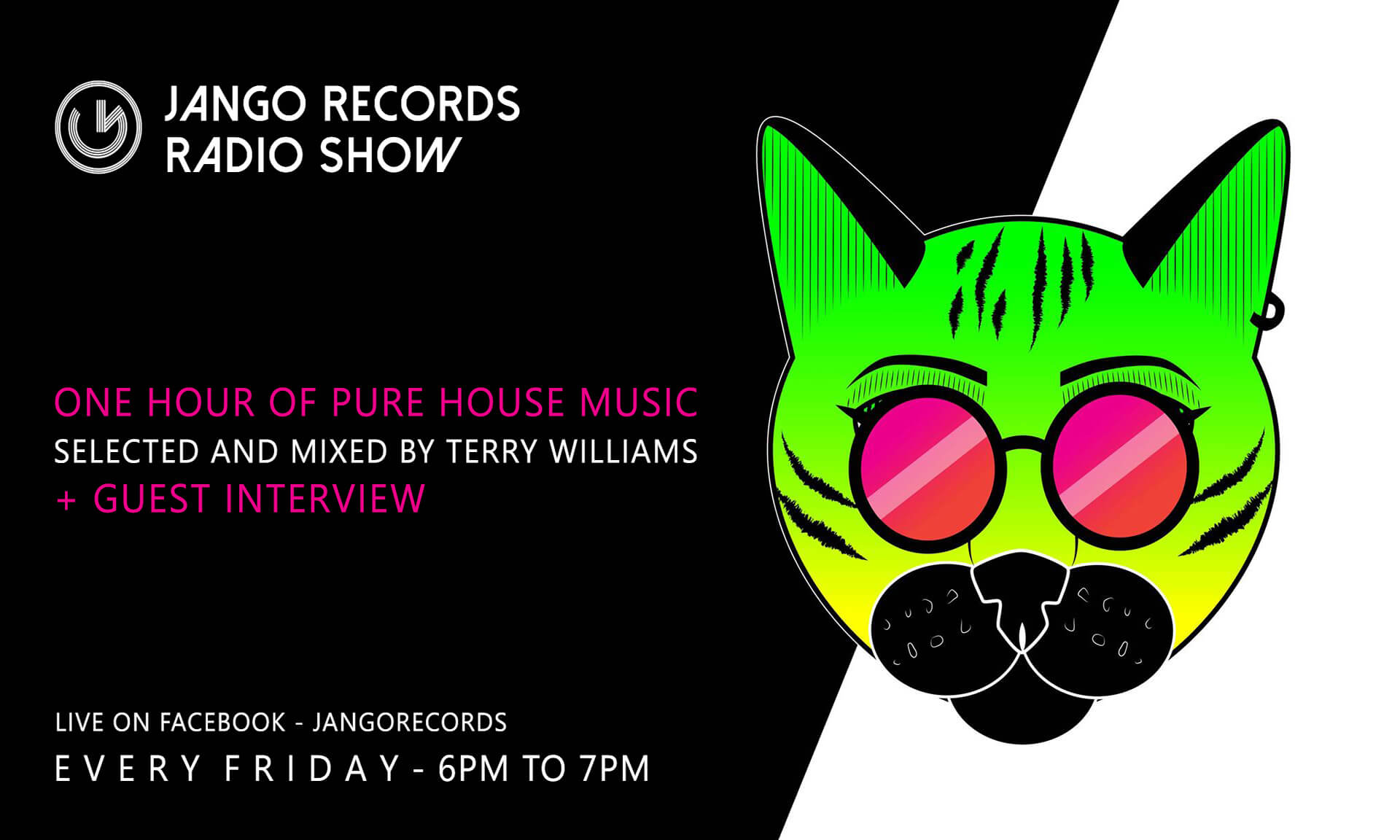 Jango Records weekly Radio Show